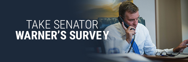 Take Senator Warner's Survey